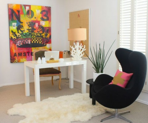 Oficinas en casa de dise o decorar hogar for Imagenes de oficinas en casa