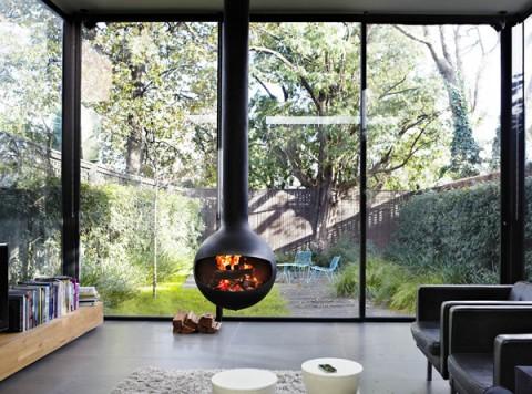3 chimeneas bonitas y modernas decorar hogar