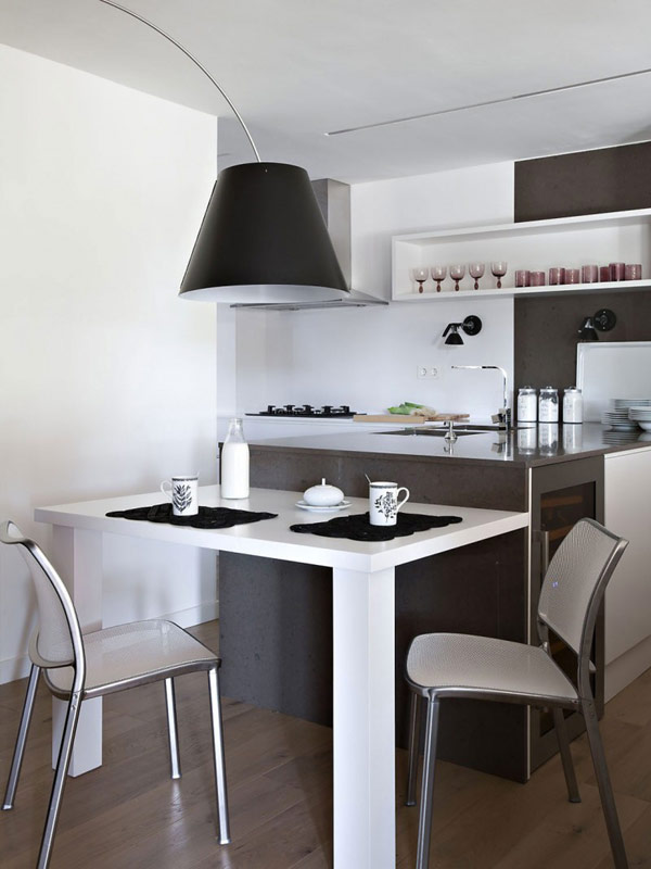 cocina-decorada-blanco-negro