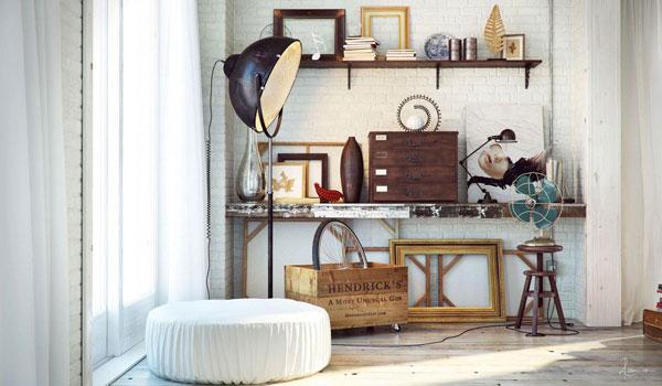 Ideas de estilo de decoración industrial para la casa