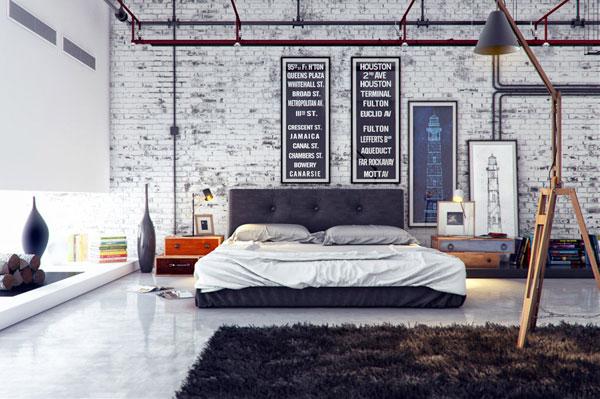 decoracion-industrial-dormitorio