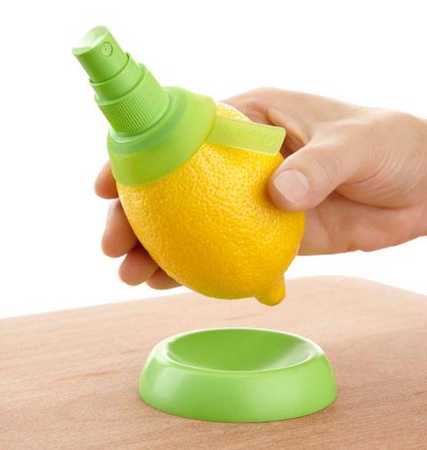 Gadgets de cocina spray limon