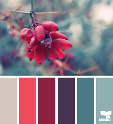 Paletas de color inspiradas en el invierno - Decorar Hogar