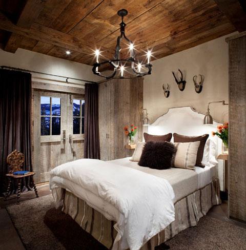 7 dormitorios rsticos de madera con fotos Decorar Hogar