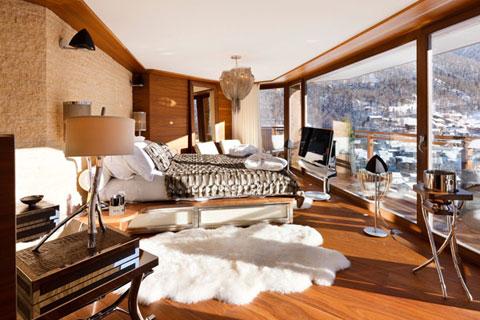 Dormitorio rustico moderno