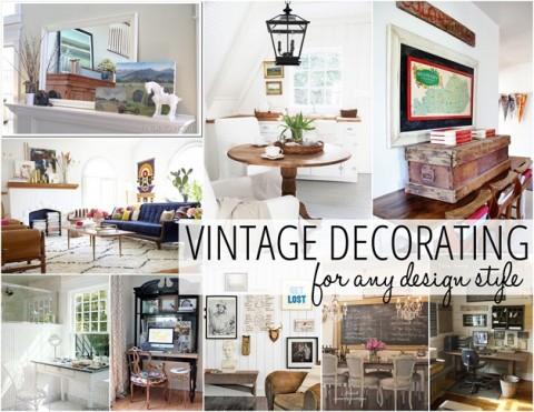 Estilos de decoracion vintage