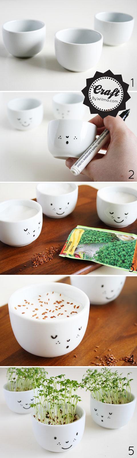 Guia para hacer una taza con cara sonriente