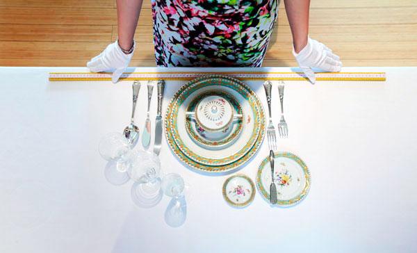 Protocolo para colocar la mesa