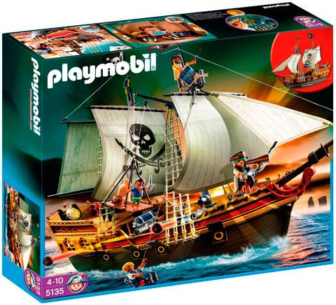 Playmobil barco pirata de ataque