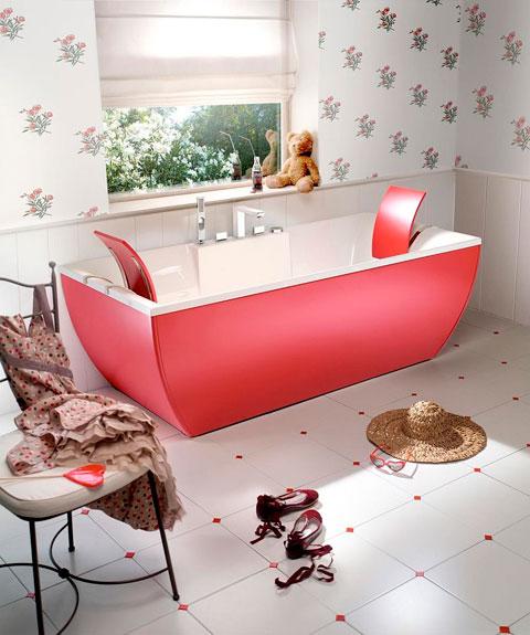Bañera de colroes
