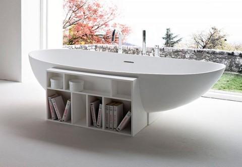 Bañera de diseño clásica