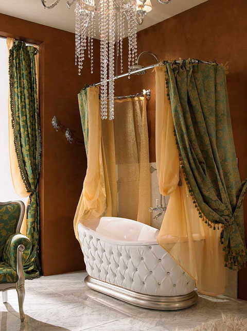 Bañera de diseño vintage