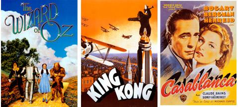 Regalos carteles de películas antiguas