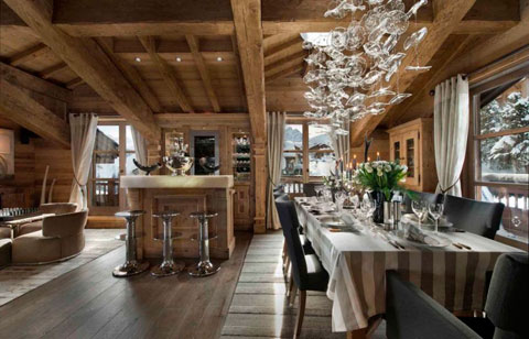chalet-perla-alpes-franceses-bar