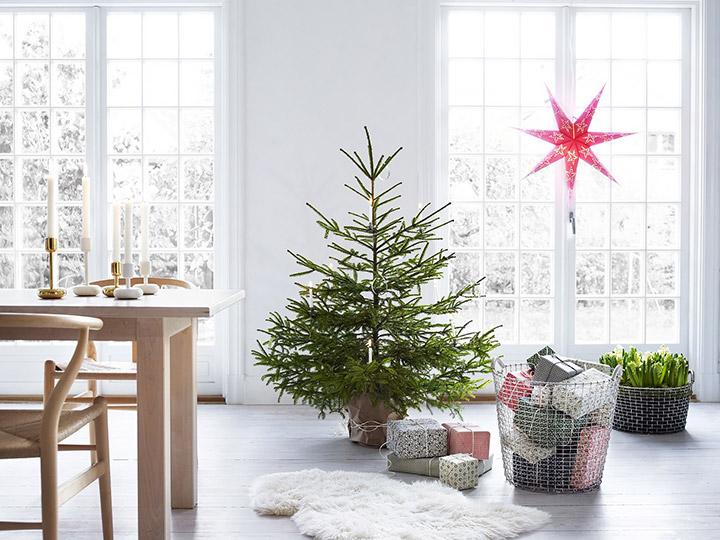 Ideas de decoración para un comedor moderno en Navidad