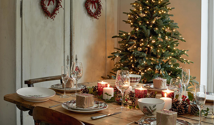 Ideas para decorar un comedor navideño