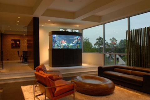 11 ideas para poner un acuario decorar hogar - Acuario en casa ...