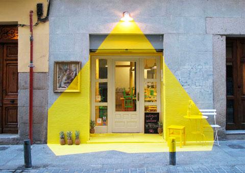 Restaurante vegano en Madrid curioso