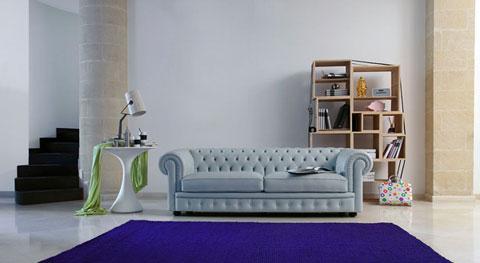 Sofa Chesterfield Pop Art
