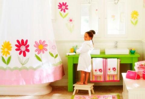Decorar baños para niños