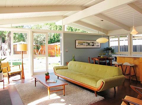 Decoraci n de salones al estilo retro pop art decorar hogar - Houzz salones ...