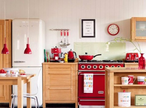 Electrodomésticos retro decorar cocina vintage
