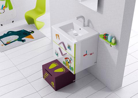 Estanterias de baños para niños