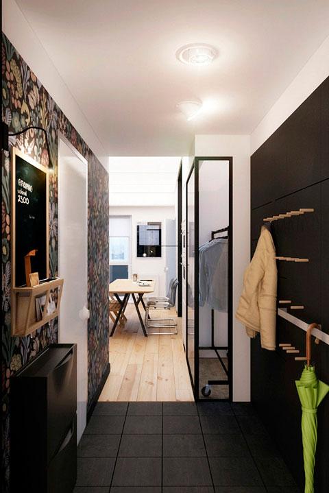 recibidor-apartamento-pequeno
