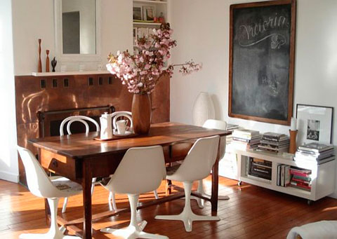 Tendencia de decoracion vintage