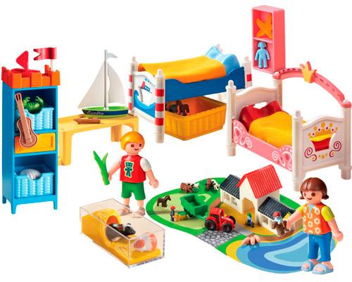 Set Playmobil habitación infantil