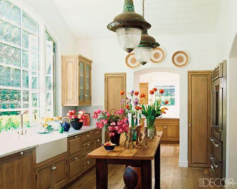 Cocina vintage rustica elegante