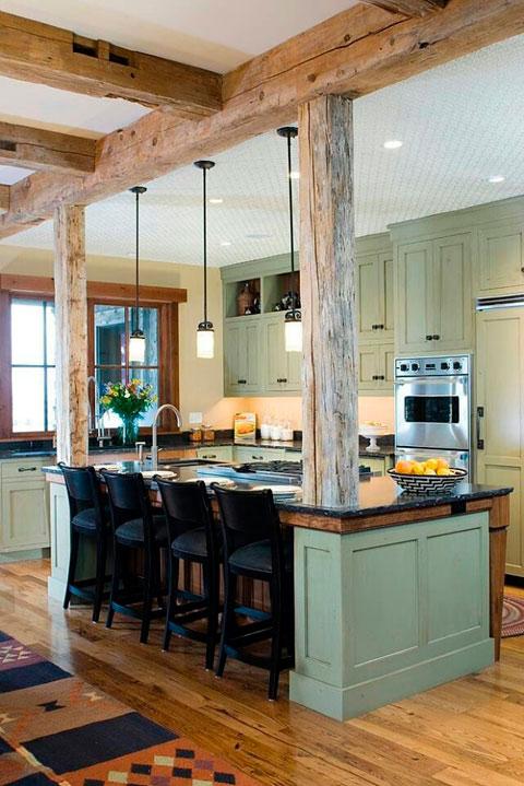 Decoración de cocinas rústicas - Muchas fotos - Decorar Hogar