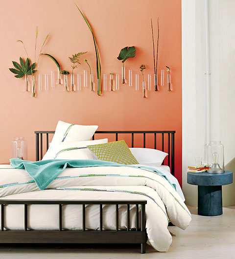5 colores bonitos para pintar en 2014 decorar hogar for Blue and peach bedroom ideas