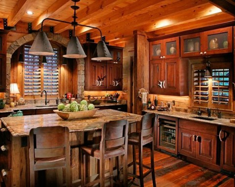 Decoracion Cocinas Rusticas Fotos on bungalow home exterior design ideas