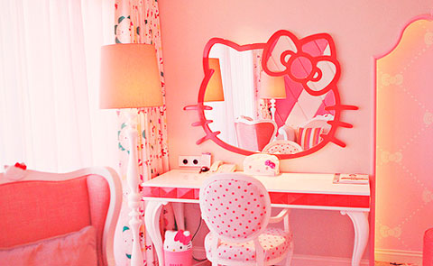 Escritorio infantil Hello Kitty