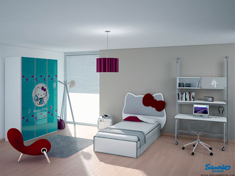 dormitorio-hello-kitty-moderno