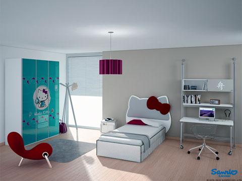 dormitorio-hello-kitty-moderno
