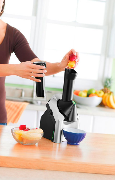 Máquina de hacer helados de frutas