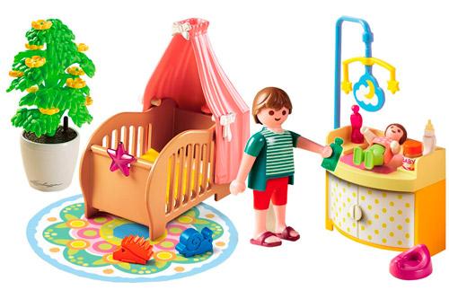 Playmobil habitación del bebé set