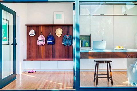 Recibidores modernos en pisos pequeños