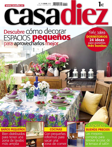 Revistas de decoracion Cada Diez