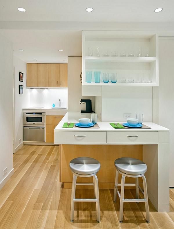 Cocinas modernas estilos 2018 decorar hogar for Decoracion de cocinas pequenas y economicas