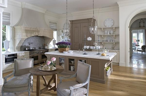 Cocinas modernas estilos 2018 decorar hogar for Cocinas vintage modernas