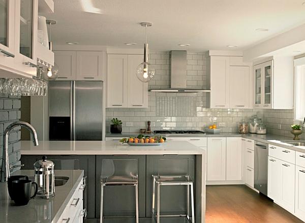 Cocinas modernas estilos 2018 decorar hogar for Cocinas modernas 2015