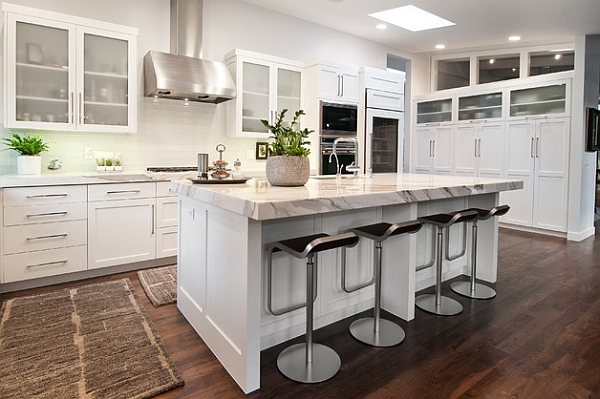 cocinas modernas estilos 2018 decorar hogar