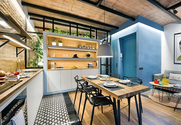 Decoración de pisos pequeños con ideas, trucos y fotos