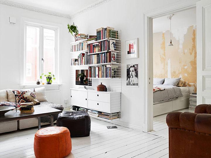 Decoración de pisos pequeños estilo Nórdico