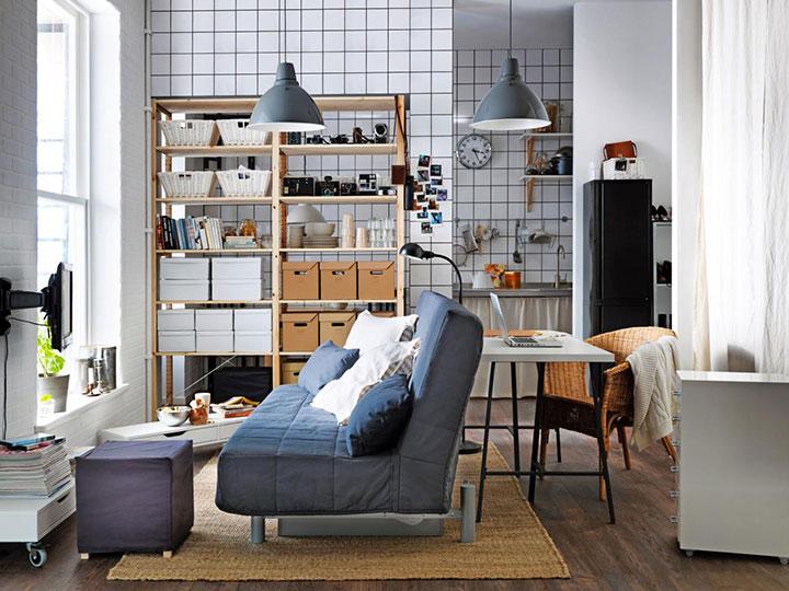 Decorar un piso pequeño barato