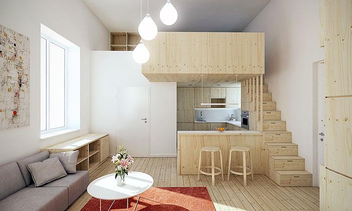 Decorar pisos pequeños modernos y funcionales