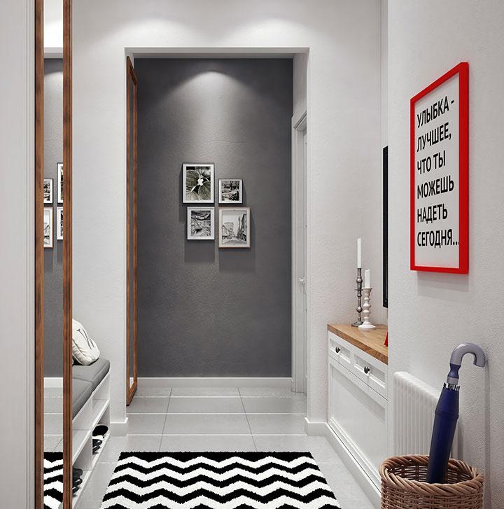 Ideas para decorar el recibidor de una casa pequeña